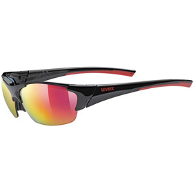 UVEX Blaze III Brille, black red/red